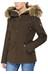 Tenson Zarah Jacket Women Dark brown